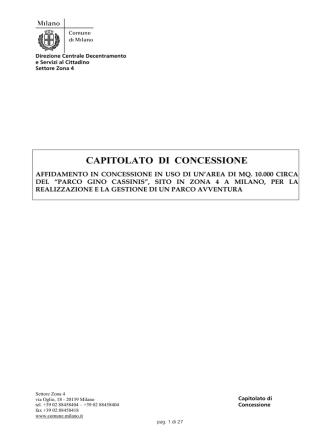 CAPITOLATO DI CONCESSIONE_Versione del 30_10_2014