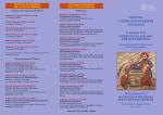 Programma completo - Sacro Cuore Abano Terme