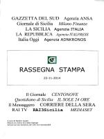 rassegna stampa del 22/11/2014 - Consorzio per le Autostrade