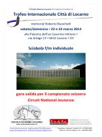 Trofeo Internazionale Città di Locarno