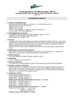 Triangolone di Monvalle 2014 - Associazione Velica Monvalle