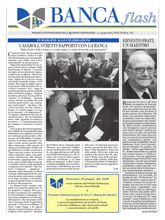 BANCA flash - Banca di Piacenza