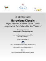 """Bando di Regata """"Barcolana Classic"""" 2014"""