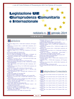 NotiziarioUE_2014_01 - Corte di Cassazione