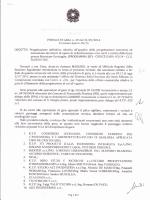 Aggiudicazione provvisoria pubblico incanto C.G. 05/14