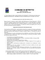 COMUNE DI BITRITTO