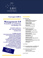 Management 3.0 - Università Carlo Cattaneo