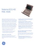 Sistema ECG HD MAC 5500