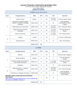 EA - Piano studi 2014-15