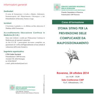 Depliant - Azienda USL di Ravenna