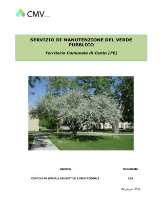 CSA - Manutenzione Verde