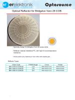Optical Reflector for Bridgelux Vero 29 COB
