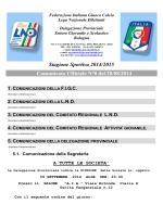 Federazione Italiana Giuoco Calcio - FIGC Delegazione Provinciale