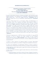 MEMORANDUM INFORMATIVO - Gruppo Banca Esperia