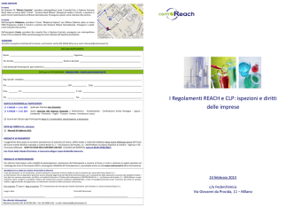 A36 REACH e CLP ispezione e diritti impresa