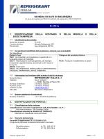 SDS R410A - Refrigerant Italia Srl