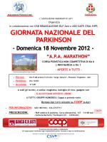 """A.P.A. MARATHON"" - Associazione Parkinson Asti"