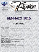 Gennaio 2015 - Provincia Regionale di Ragusa