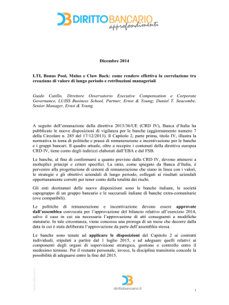 Cutillo G. Seacombe D.T., LTI, Bonus Pool, Malus