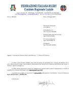 Prot. n. 186/2014 Roma, 10 Giugno 2014 Alle Società interessate