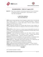 Deliberazione n. 1066 del 14 agosto 2014 [file]