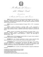 D.I. 6 febbraio 2014 - Ministero del Lavoro e delle Politiche Sociali