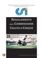 Regolamento 2014/2015 (Calcio a 5)