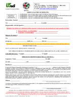 modulo iscrizione cta 2014/15