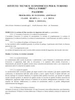 """ISTITUTO TECNICO COMMERCIALE STATALE """"PIO LA TORRE"""""""