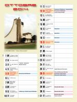 Calendario Pastorale 2014 - Parrocchia Ss. Martino ves. * Antonio ab.