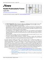 News Sanità Penitenziaria Veneto