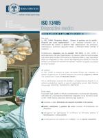Brochure ISO 13485