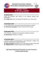 SEMINARI TEMATICI AA 2014-2015