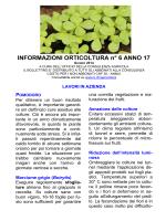 Informazioni orticoltura no. 06/2014