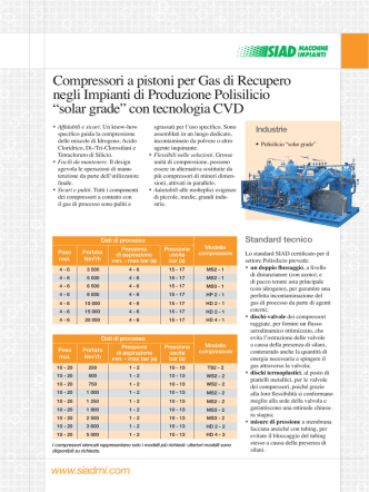 Compressori Gas Reciclo TCS it