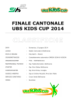 Finale Cantonale UBS Kids Cup - Unione sportiva capriaschese