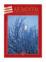 Scarica il numero 48 di Ariminum in formato PDF.