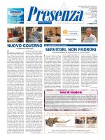 Presenza n. 4 del 2/3/2014 - Arcidiocesi di Ancona