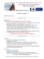 Programma e scheda iscrizione giornata di venerdì 31 ottobre