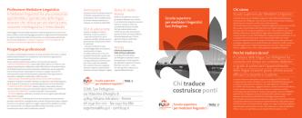 Chi traduce costruisceponti - Fondazione Universitaria San Pellegrino