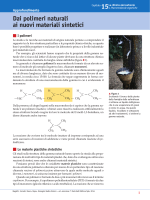 Dai polimeri naturali ai nuovi materiali sintetici
