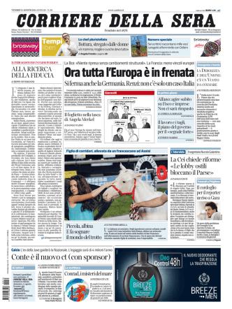 Corriere della sera - 15.08.2014
