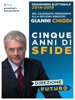 Programma - Gianni Chiodi