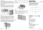 Foglio istruzioni - ekinex ekinex by SBS