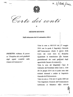 Sezioni riunite in sede consultiva - Delibera n. 3