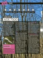 ASX 7500 - Ghost Bikes