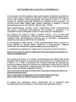Documentazione da inviare per istanze autorizzative