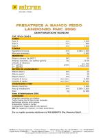 Scheda stampabile, LANDONIO FMC 3000, CNC Selca
