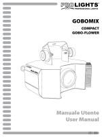 Manuale Utente User Manual GOBOMIX