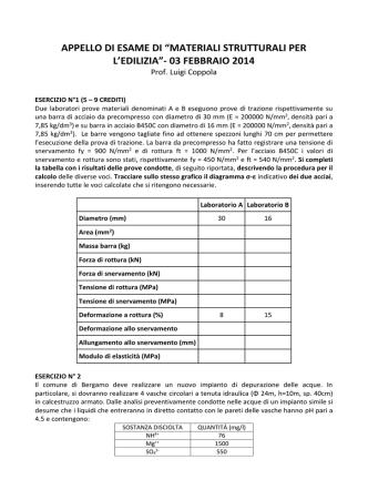 03 febbraio 2014 - Università degli studi di Bergamo